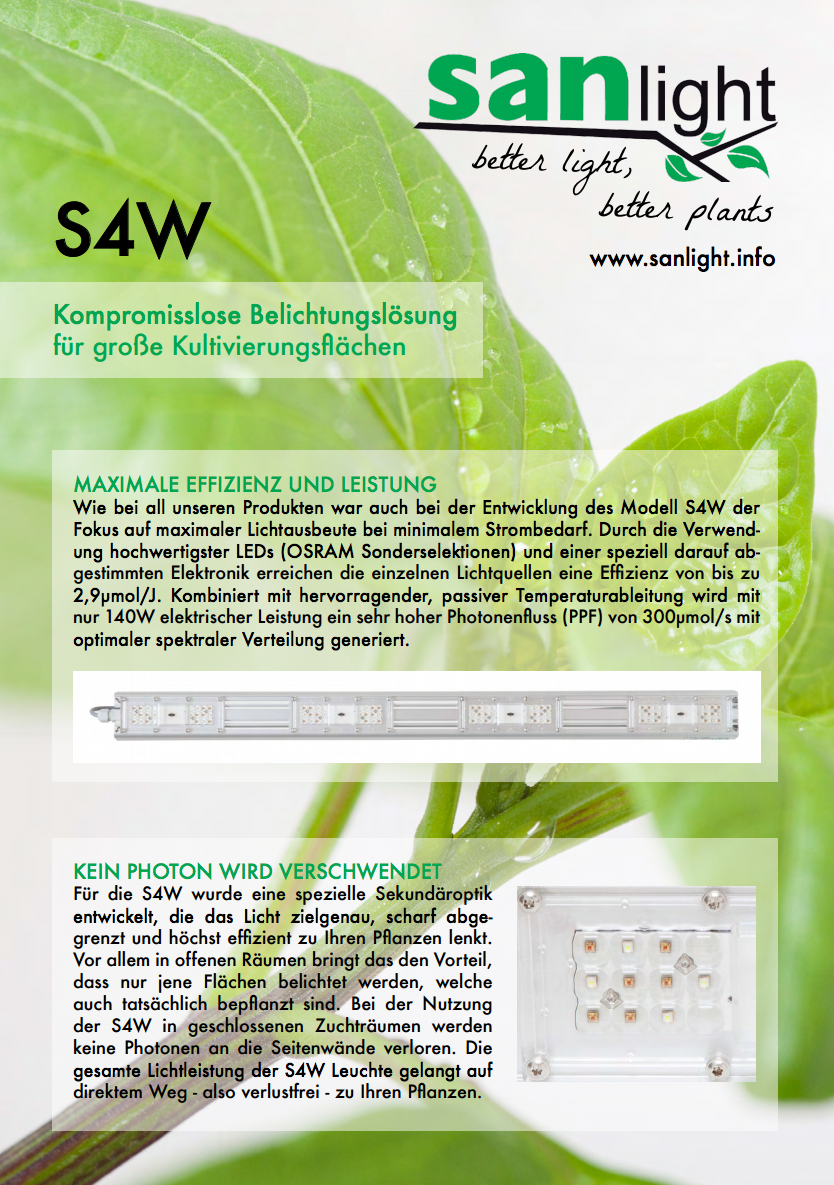 Sanlight S4W