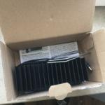 Sanlight, Aluminiumbügel und Bedienungsanleitung